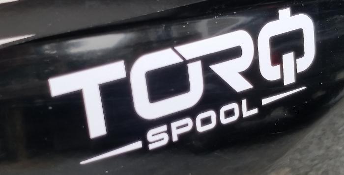 TORQ Spool Sticker