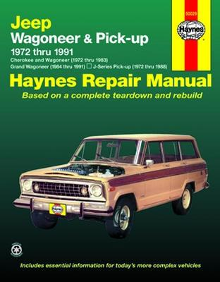 Jeep Wagoneer Pick Up 72 91 Haynes Repair Manual Locking Differential Aussie Locker By Torq Masters