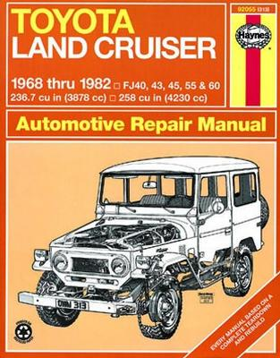 toyota land cruiser 68 82 haynes repair manual locking rh torqmasters com FJ Cruiser Logo Toyota FJ Crusier