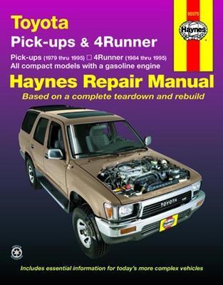 toyota pick ups 4runner 79 95 haynes repair manual locking rh torqmasters com 2007 4runner factory service manual Toyota 4Runner Owners Manual PDF